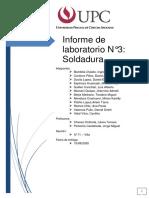 LABORATORIO DE SOLDADURA 2020-1 GRUPO 1
