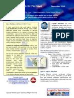Logistix Solutions Newsletter December 2010