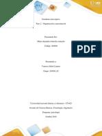 Paso 2 - Organización y presentación