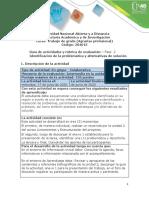 Guia de actividades y rubrica de evaluación - Fase 2 - Identificación de la problemática y alternativas de solución.pdf