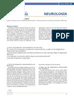 Caso clínico neurología