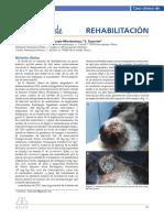Caso clínico rehabilitación