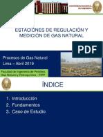 Estaciones de Regulación y Medición de Gas Natural_2019
