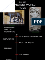 ROMAN HISTORY NOTES Introduction