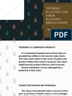 TOURISM PLANNING AND THEIR PLANNING IMPLICATIONS