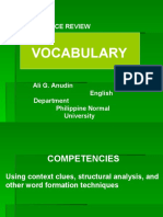 5  Vocabulary