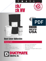 DUCTMATE PROTACK DUCT LINER ADHESIVE