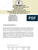 Instrumentos Económicos para un eficiente manejo de desechos sólidos en la ciudad de Managua
