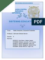 SISTEMAS EDUCATIVOS 1