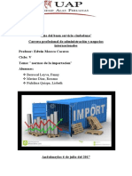 para exportacion