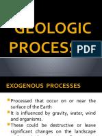 GEOLOGIC PROCESSES