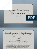 PSYC1001-Lecture Physical_development-AGB