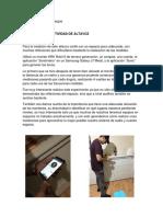 Andrés Pérez- -medición de altavoz