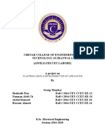 CHENAB COLLEGE OF ENGINEERING AND TECHNOLOGY GUJRANWALA