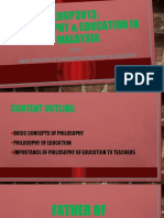 1. Basic Concepts of Philosophy & Philosophy of Education.pptx