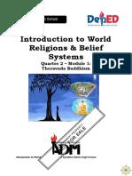 SILM ABASTAR LESSON 9 WORLD RELIGION THERAVADA BUDDHISM.doc