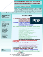 Formation Continue Chimie Industrielle Pour Non Chimistes 2011
