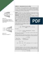 Problema desaceleración del aire en un difusor, flujo estacionario (1)