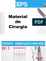 Materiais de cirurgia - odonto