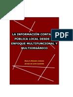 Dodero Jordán, Adolfo _  De Leon Ledesma, Javier  - La informacion contable publica local desde el enfoq~0