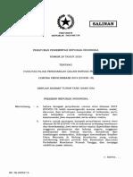 1. Salinan PP Nomor 29 Tahun 2020 (2).pdf