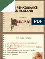 lecture 2 Renaissance Literature  ppt