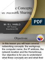 Basic Concepts of Networking