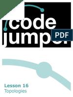 Code Jumper Lesson 16 Topologies