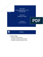 PMITP Lecture 06 - Inititating a Project 2 Slide Per Page