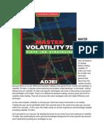 Vix 75 Trade