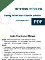 TRANSPORTATIONPROBLEM_FINDINGINITIALBASICFEASIBLESOLUTION