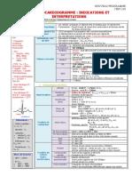 229 Électrocardiogramme  indications et interprétations