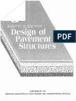 AASHTO Guide for Design of Pavement Structures 1993