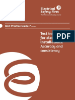 Electrical Safety First - Best Practice Guide 7 Issue 2