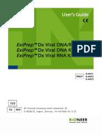 ExiPrep Dx Viral DNA, RNA Kit (K-4471_3) Manual EN (v2.0)