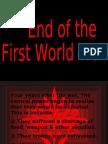 End Of First World War