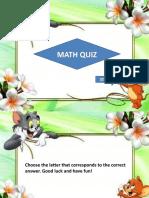 math quiz- output1