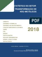 Anuário Estatístico do Setor de Não Metálicos - 2018 base 2017.pdf