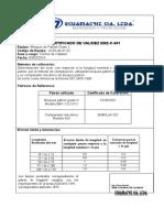 certificado de calibracion 10