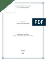 1 Propuesta de la arquitectura tecnológica