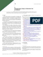 ASTM D7778-15 Planificación interlaboratorio