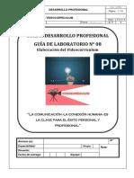 Guía Lab. 08 Videocurrículum (VC)