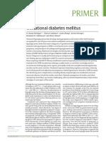 Diabetes Mellitus Gestational