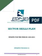 sector skills plan 2010-2011 revision 321