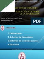 Fundamentos de sistemas de comunicación
