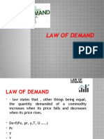 Law of demand- unit 2