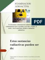 Contaminacion RADIACTIVA SONORA Y LUMINICA