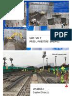 CyP_Sesion_03 2019-2 Costos Directos(1)