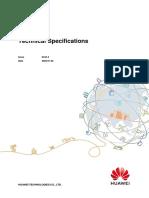 AAU5726 Technical Specifications(V100R016C10_Draft A)(PDF)-EN