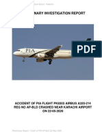AAIB-PK 8303 crash report